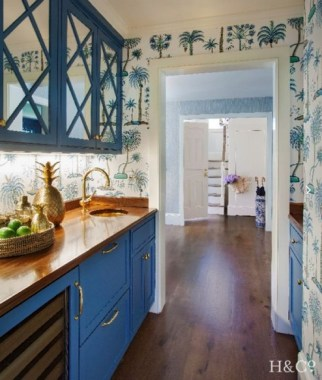 15 Whimsical Blue Kitchens That Are Too Charming To Be True 14