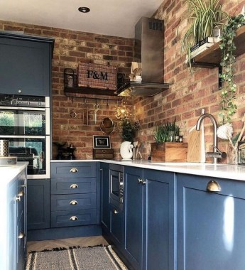 17 Blue Kitchen Cabinet Ideas To Upgrade Your Kitchen Today 08