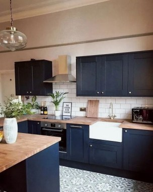 17 Blue Kitchen Cabinet Ideas To Upgrade Your Kitchen Today 11