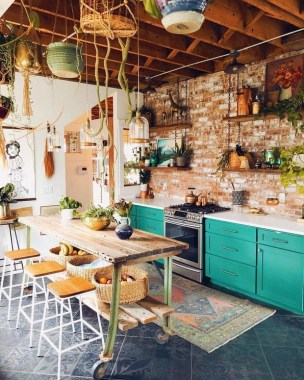 17 Eclectic Kitchens That Are Too Good To Be True 06