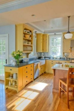 17 Yellow Kitchen Ideas That Will Brighten Your Home 05