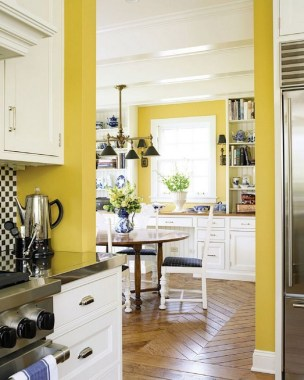 17 Yellow Kitchen Ideas That Will Brighten Your Home 15