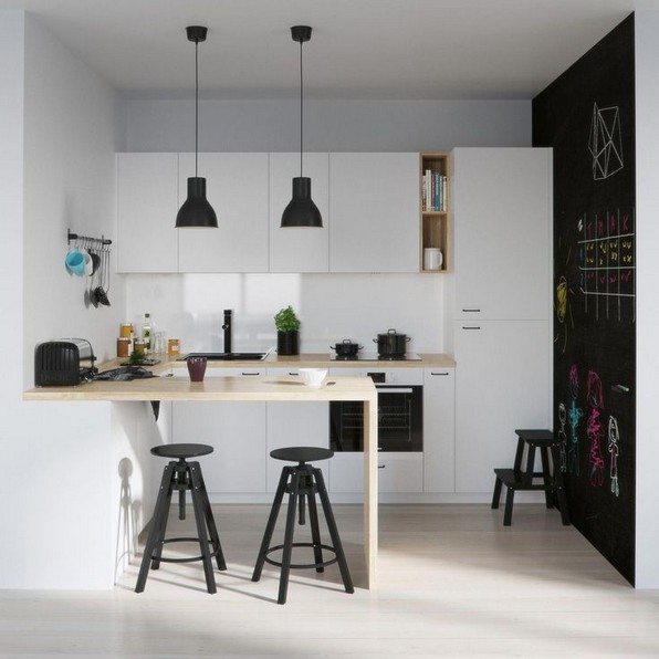 Decorating Kitchen Walls With Visual Allure 15