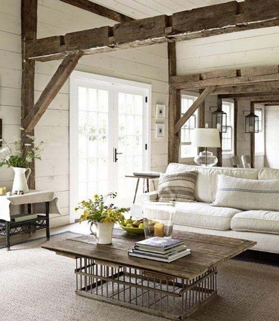 Mix Modern And Rustic For A Stylish Feel 05