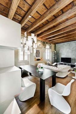 Mix Modern And Rustic For A Stylish Feel 18