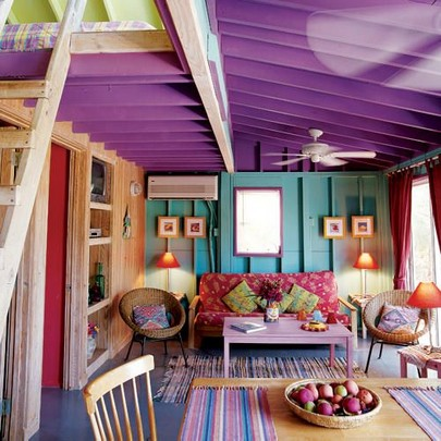 Shake Up Your Space With Color Indoors Or Out 23