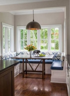 Trendy Breakfast Nook Ideas 26