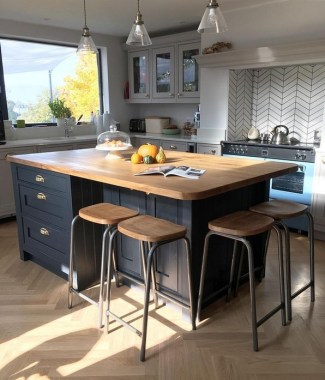 15 Kitchen Islands With Seating For Your Family Home 14