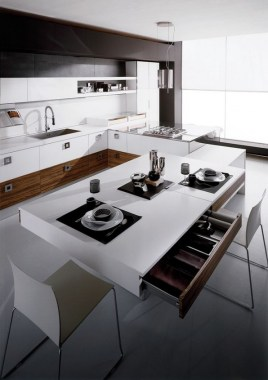 15 Neutral Chic In FLY Oak Kitchen By RiFRA 06