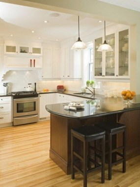 16 Kitchen Peninsula Designs That Make Cook Rooms Look Amazing 10