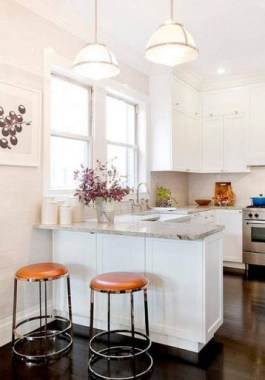 16 Kitchen Peninsula Designs That Make Cook Rooms Look Amazing 15
