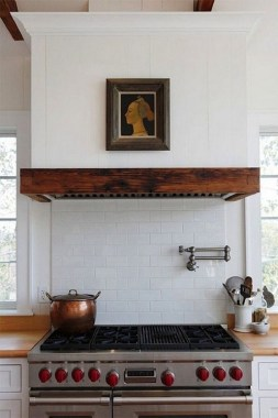 16 Kitchens With Unusual Stove Hoods 08