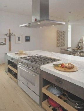 16 Kitchens With Unusual Stove Hoods 19