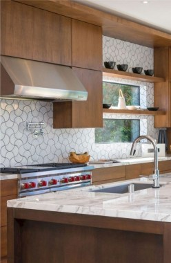 17 Modern Kitchen Countertops From Unusual Materials 15