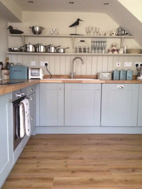 18 Blue Paint Colors To Use In Your Kitchen For A Chic Upgrade 18