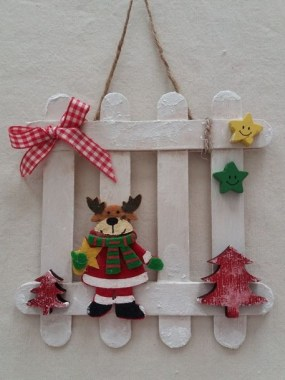 19 Cheap DIY Popsicle Stick Ornament For Christmas Decoration 08