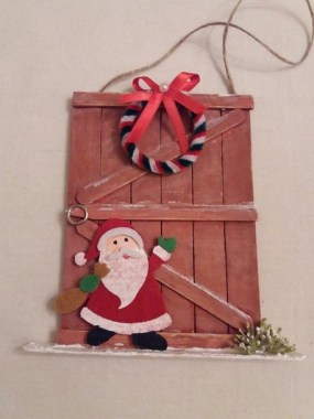 19 Cheap DIY Popsicle Stick Ornament For Christmas Decoration 19