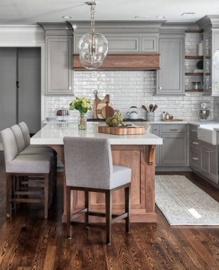 19 Modern Farmhouse Kitchens That Fuse Two Styles Perfectly 05