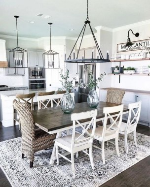19 Modern Farmhouse Kitchens That Fuse Two Styles Perfectly 10