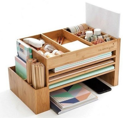 21 Functional DIY Stationery Storage To Have A Good Organizer 01