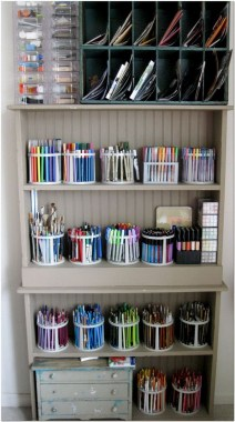 21 Functional DIY Stationery Storage To Have A Good Organizer 40