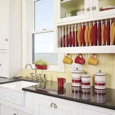 17 DIY Dinnerware Organizer To Display Your Valuable Collection 20