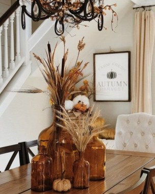 18 DIY Centerpiece Ideas To Beautify Your Dining Room This Fall 06