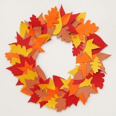 19 Delightful DIY Fall Paper Craft Ideas For Your Classroom Activities 08