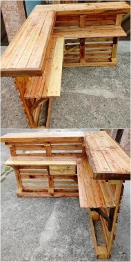 19 Functional DIY Old Wood Pallets Ideas 16