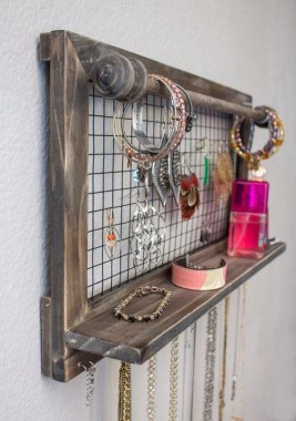 19 Jewelry Organizer That Easy To Make Without Breaking The Bank 25