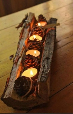 20 Pretty DIY Decorative Candle This Fall 26