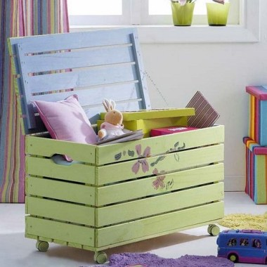 21 Attractive Toys Box Ideas For Your Kids 18