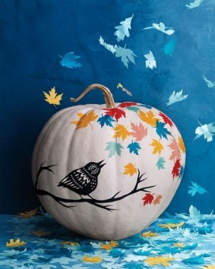 21 Easy DIY No Carve Pumpkin Craft Ideas 17