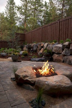 21 Patio Design Ideas With Stones To Bring A Sophisticated Look 09