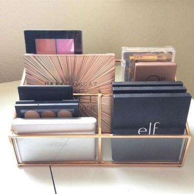 21 Pretty Chic DIY Makeup Storage Ideas For An Inexpensive One 13