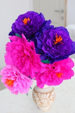 21 Simple DIY Paper Flower For Your Home Decoration 04