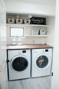 20 Laundry Room Design Ideas That Will Maximize Your Small Space 17