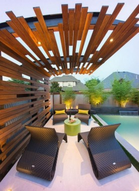 21 Beautiful Outdoor Space With Canopy Designs 23