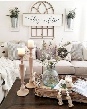 21 Rustic Farmhouse Living Room Decor Ideas 24