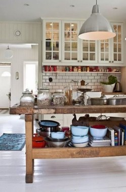 24 Awesome Yet Functional Kitchen Island Design Ideas 08