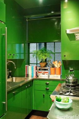 24 Genius Small Kitchen Ideas With Sky High Cabinets 03