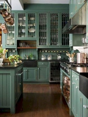 24 Genius Small Kitchen Ideas With Sky High Cabinets 20