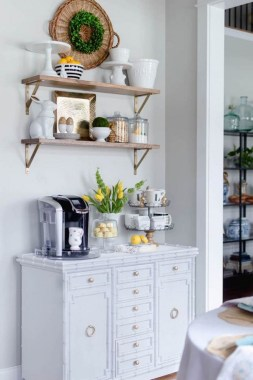 25 Mini Coffee Bar Ideas You Need To Consider For Your Own 05