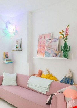 25 Spring Home Decor Ideas With Pastel Color 19