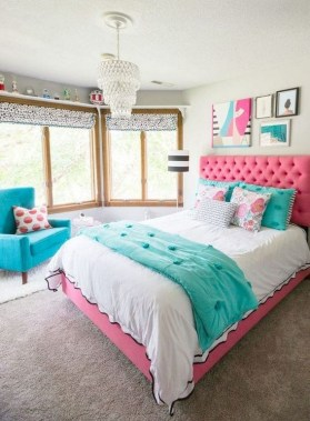 26 Chic Teenage Girl Bedroom Decorating Ideas 04