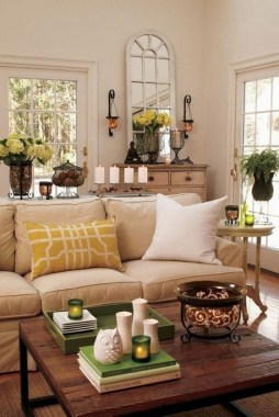 26 Wonderful Living Room Decor Ideas With Spring Theme 27