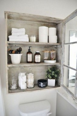27 Built In Bathroom Shelf And Storage Ideas To Keep Your Bathroom Organized 29
