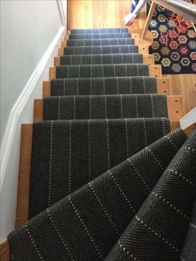 27 Carpeted Staircase Ideas That Will Add Texture And Warmth To Your Home 03