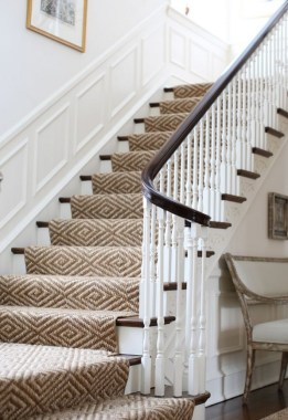 27 Carpeted Staircase Ideas That Will Add Texture And Warmth To Your Home 05