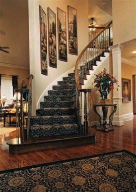 27 Carpeted Staircase Ideas That Will Add Texture And Warmth To Your Home 17